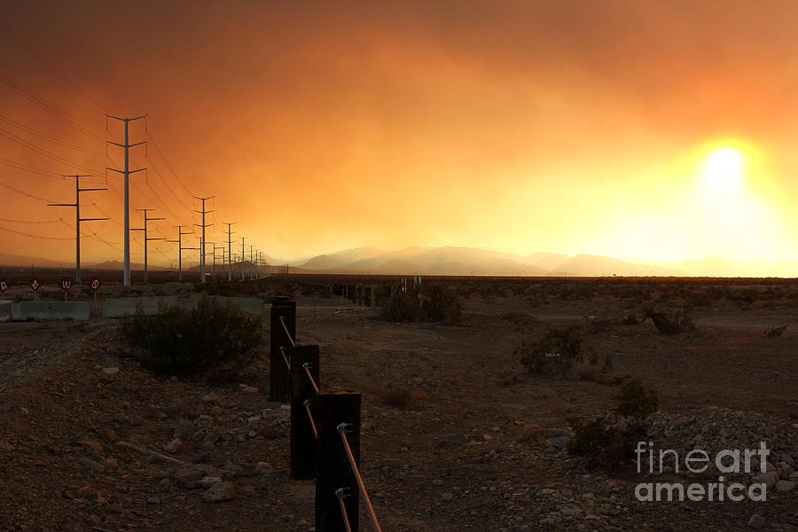 Burnt Sky by Balanced Art