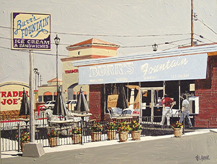 Sacramento Painting - Burrs On Folsom Boulevard by Paul Guyer