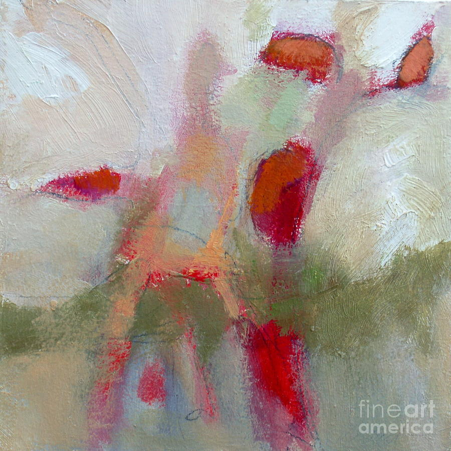 Contemporary Painting - Burst II by Virginia Dauth