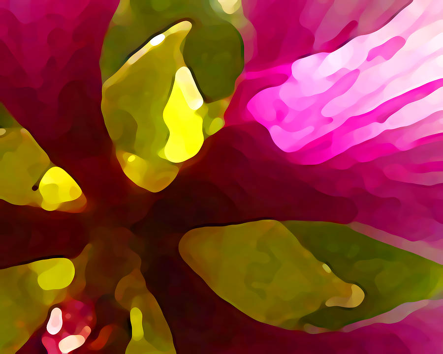 Contemporary Painting - Burst Of Spring by Amy Vangsgard