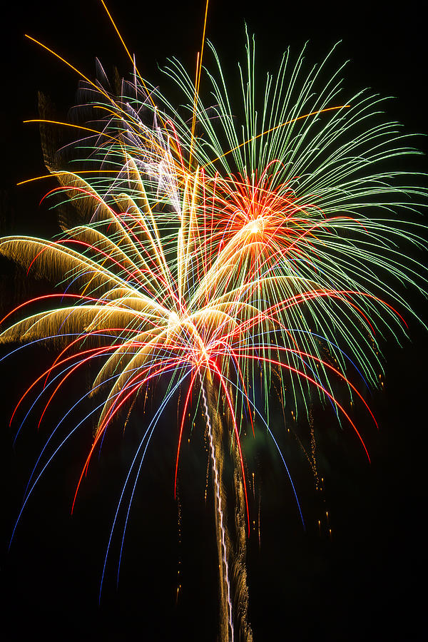 4th Of July Photograph - Bursting In Air by Garry Gay