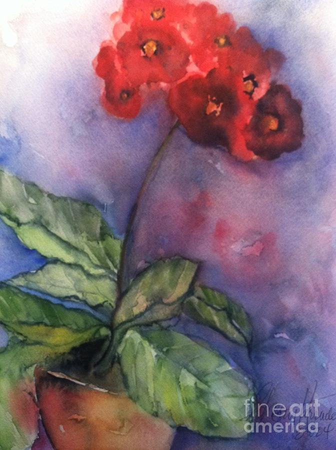 Orchards Painting - Bursting With Pride by Sherry Harradence