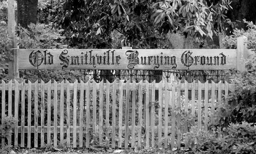 Cemetery Photograph - Burying Ground by Cynthia Guinn