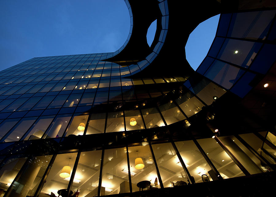 Business Towers Photograph by Okeyphotos