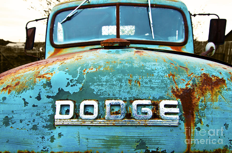 Dodge Trucks Photograph - But Does It Run by John Debar