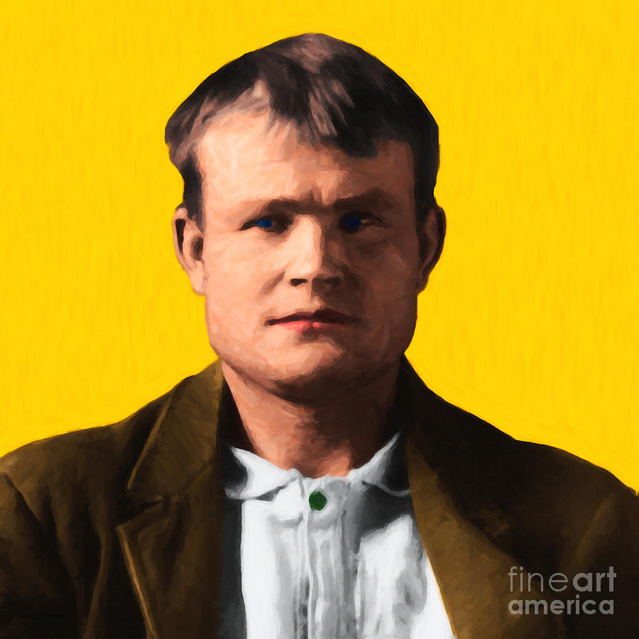 Butch Cassidy Photograph - Butch Cassidy 20130513 Square by Wingsdomain Art and Photography