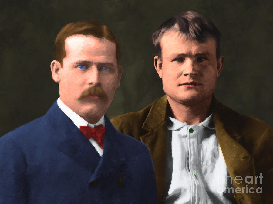 Butch Cassidy Photograph - Butch Cassidy And The Sundance Kid 20130512 V3 by Wingsdomain Art and Photography
