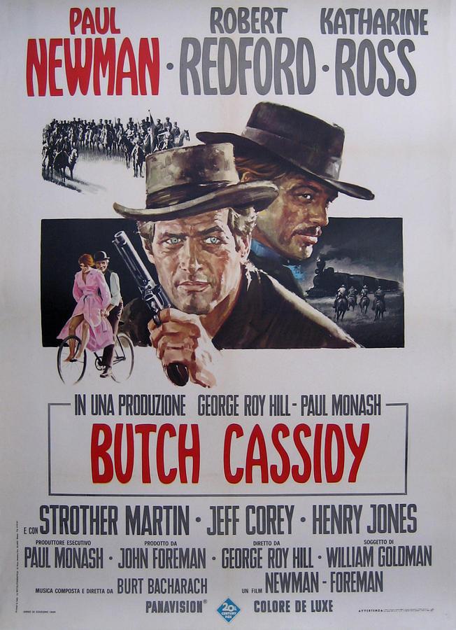 Butch Cassidy Digital Art - Butch Cassidy And The Sundance Kid by Georgia Fowler