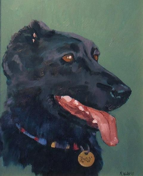 Butch Painting by Raymond Kaler