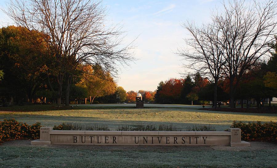 Butler University Photograph - Butler University Mall by Dan McCafferty