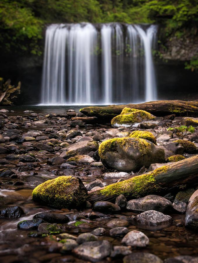 Butte Creek Photograph - Butte Creek Blur by Brian Bonham