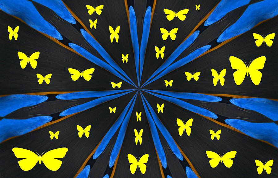 Butterflys Photograph - Butterflies Galore by Karol Livote