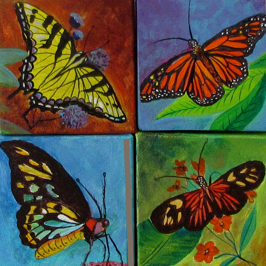 Butterflies by Susan Duxter