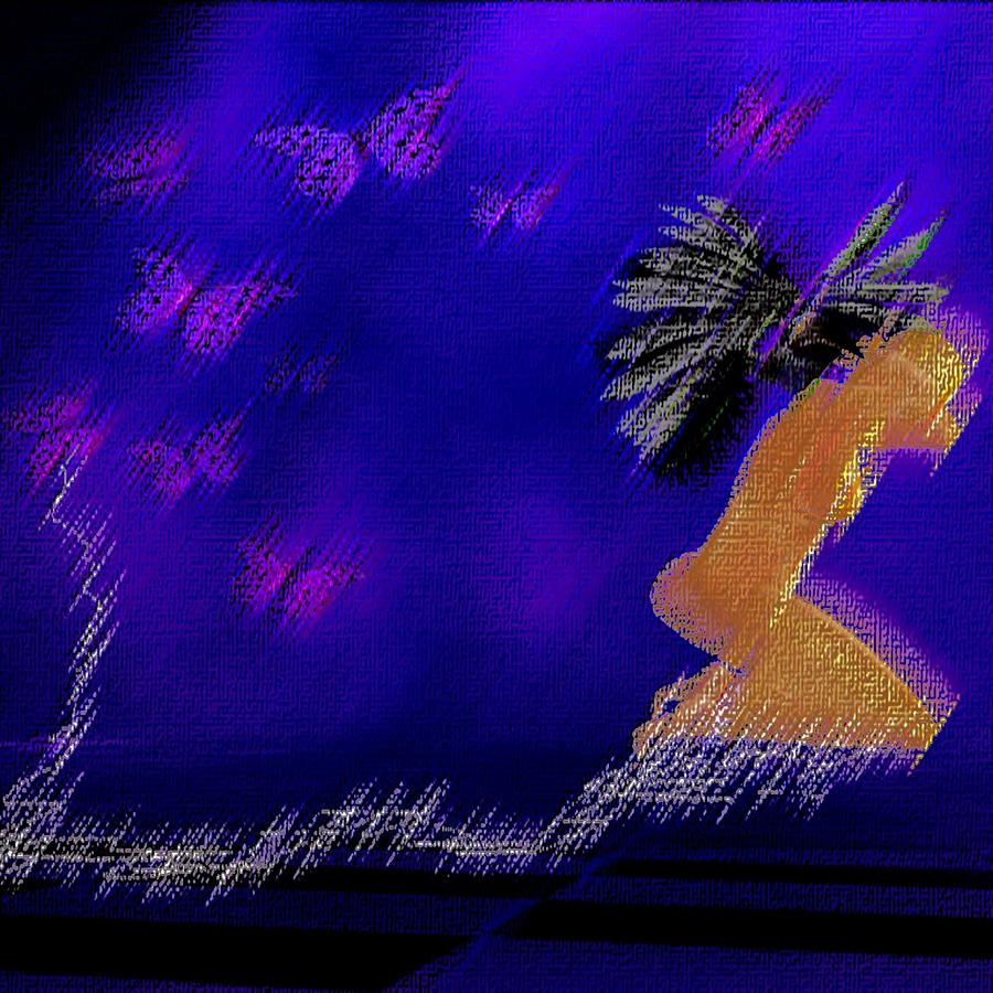 Women Digital Art - Butterflies by Theda Tammas