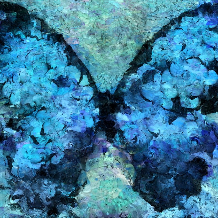 Butterfly Painting - Butterfly Art - D11bl02t1c by Variance Collections
