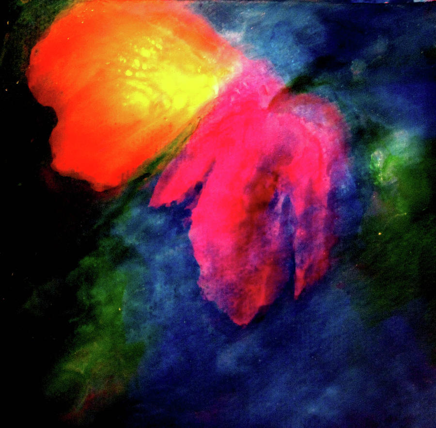 Butterfly Painting - Butterfly Glow by Janice Nabors Raiteri
