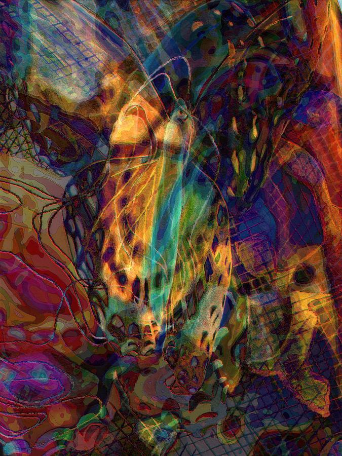 Butterfly Digital Art - Butterfly Gold by Jeffrey Todd Moore