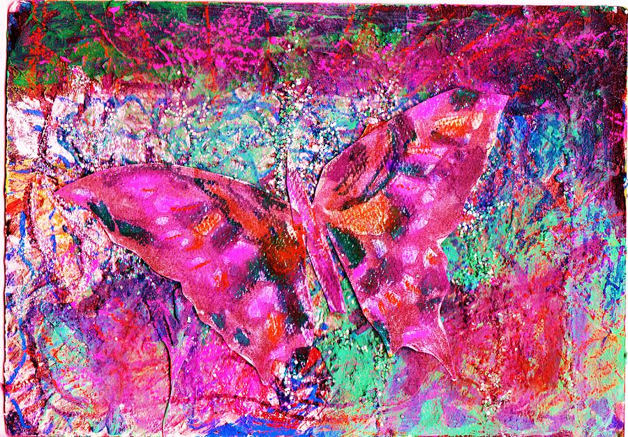 Butterfly Mixed Media - Butterfly Incognito by Anne-Elizabeth Whiteway