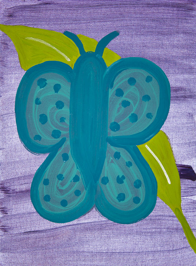 Butterfly Painting - Butterfly by Melissa Dawn