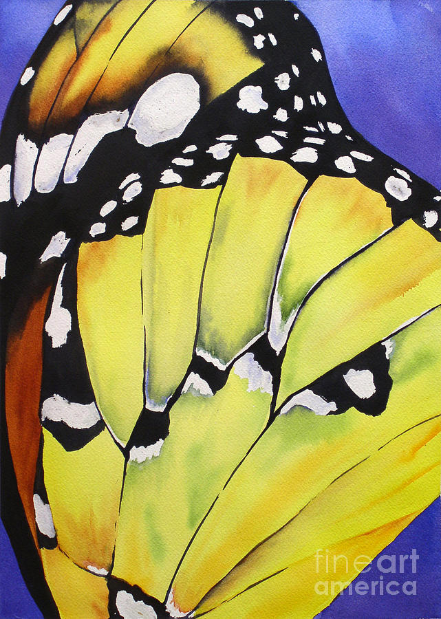 Butterfly Wing by Glenyse Henschel