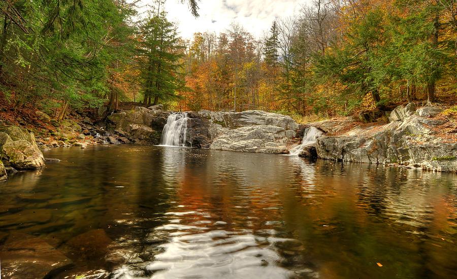 Buttermilk Falls Photograph - Buttermilk Falls by Dennis Clark