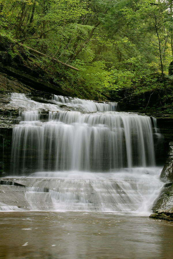 Waterfall Photograph - Buttermilk Falls by Judd Connor