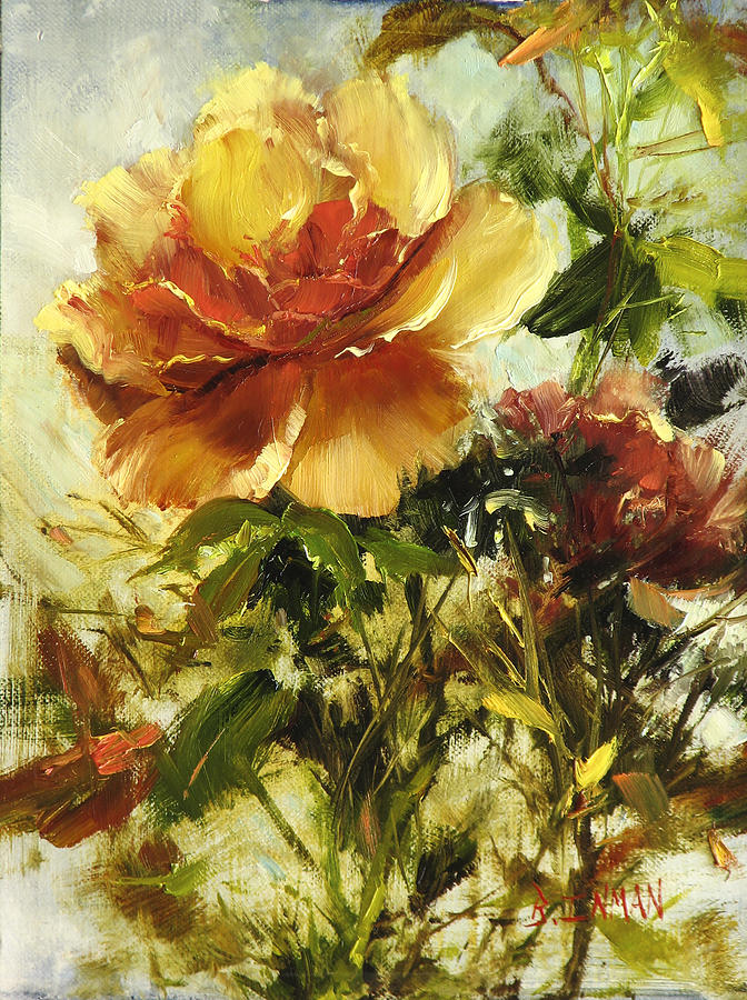 Butterscotch Beauty Painting By Bill Inman