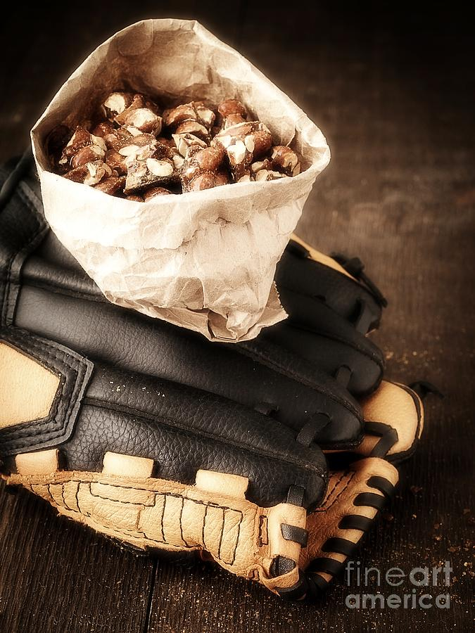 Baseball Photograph - Buy Me Some Peanuts And Cracker Jack by Edward Fielding