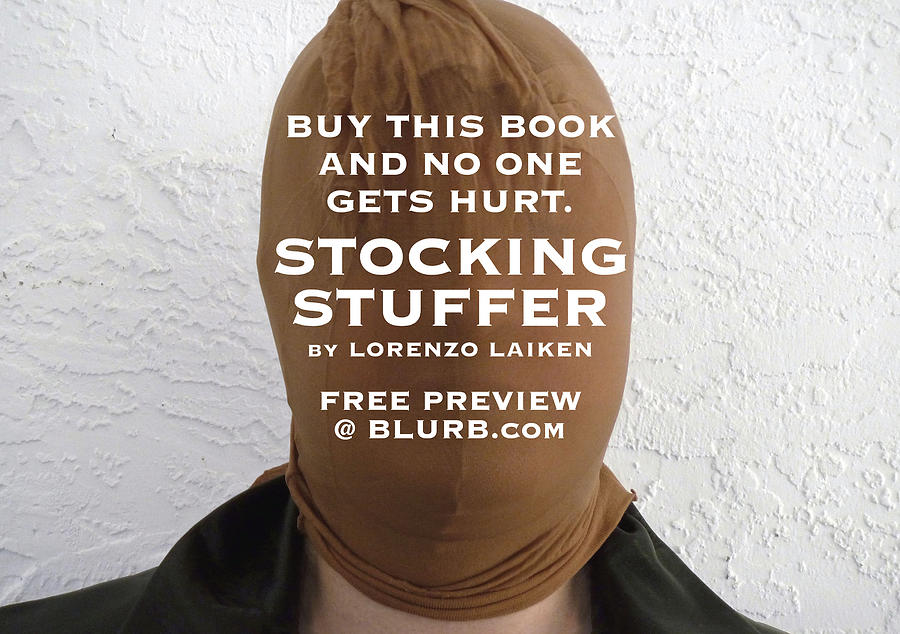 Stocking Stuffer Photograph - Buy This Book by Lorenzo Laiken