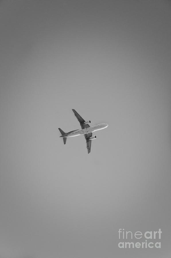Airplane Photograph - Bw Airplane by Ricardo Lisboa