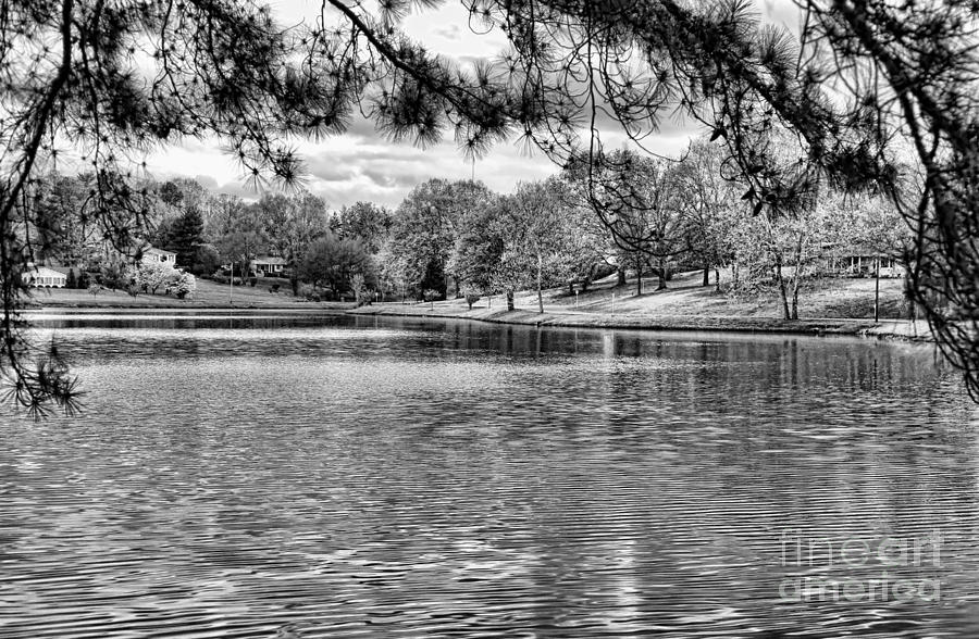 Tennessee Photograph - Bw Lake Views  by Chuck Kuhn