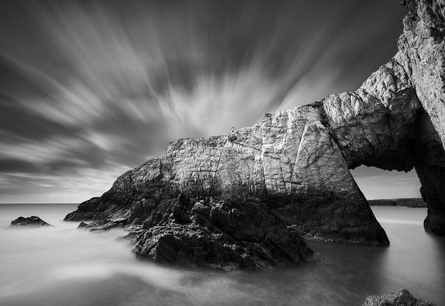 Arch Photograph - Bwa Gwyn by Dave Bowman