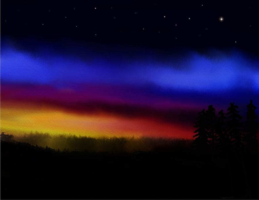 Sunset Digital Art - By Dawns Early Light by Steve Hermann