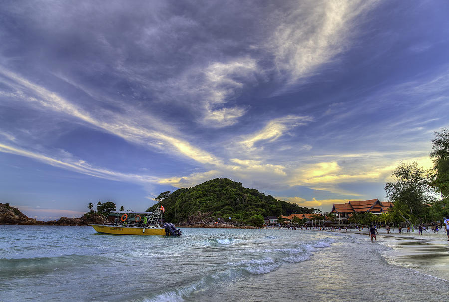 Beach Photograph - By The Beach by Mario Legaspi