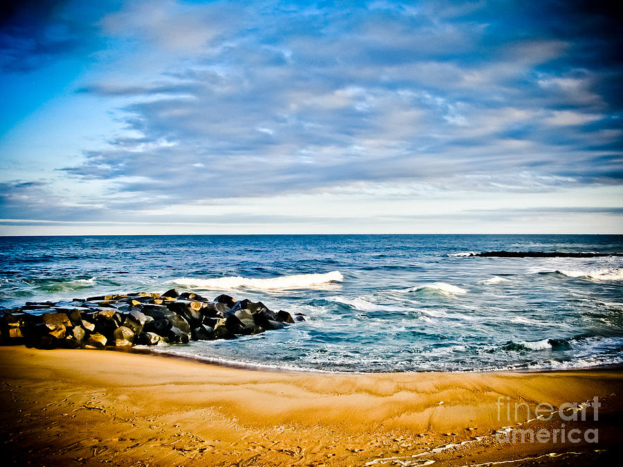 Ocean Photograph - By The Beautiful Sea by Colleen Kammerer