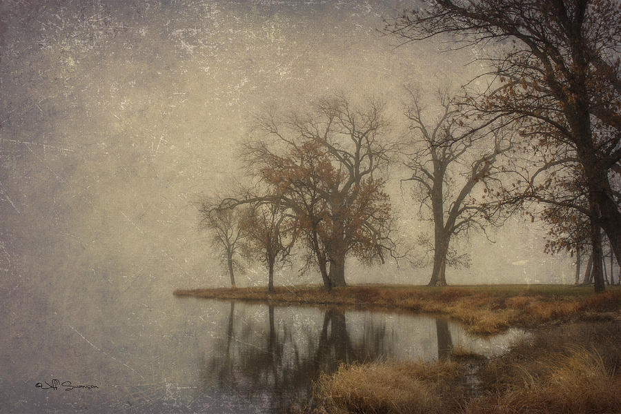 Fog Photograph - By The Waters Edge by Jeff Swanson