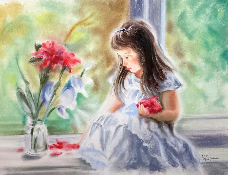 By The Window Painting by Harry Speese