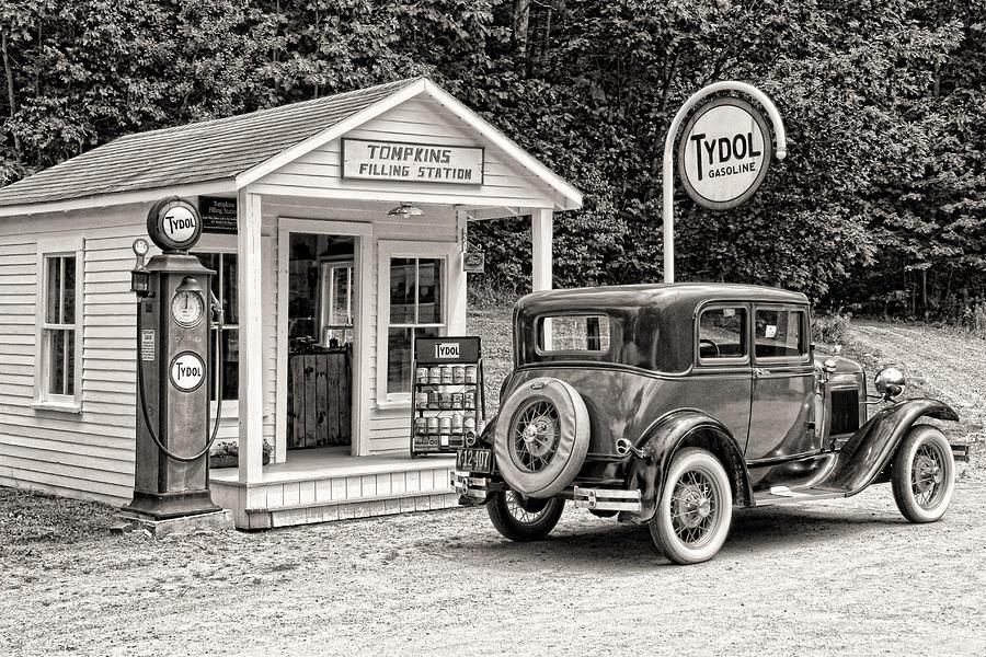 Boothbay Photograph - Bygone Days by Brenda Hackett