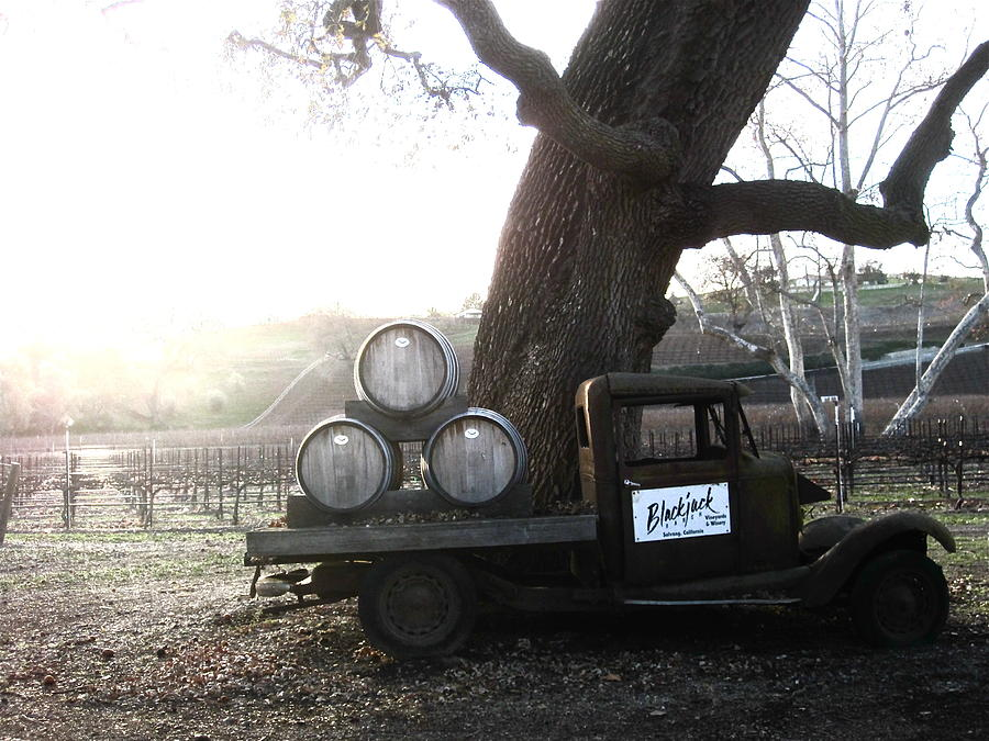 Winery Photograph - Bygone Era by Paul Foutz