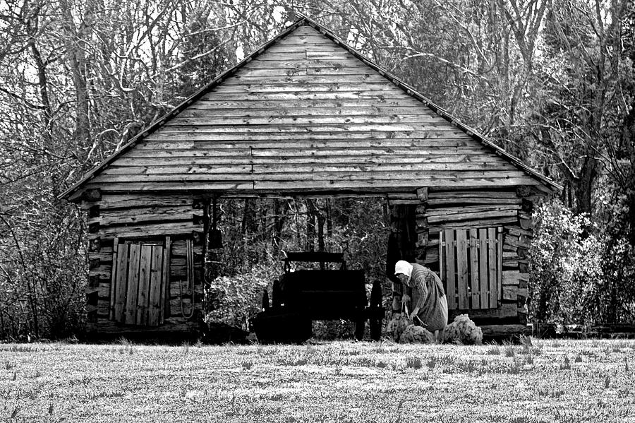 Barn Photograph - Bygone Era Too by Arthur Warlick