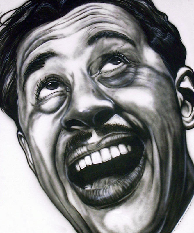 Cab Painting - Cab Calloway by Mike Underwood
