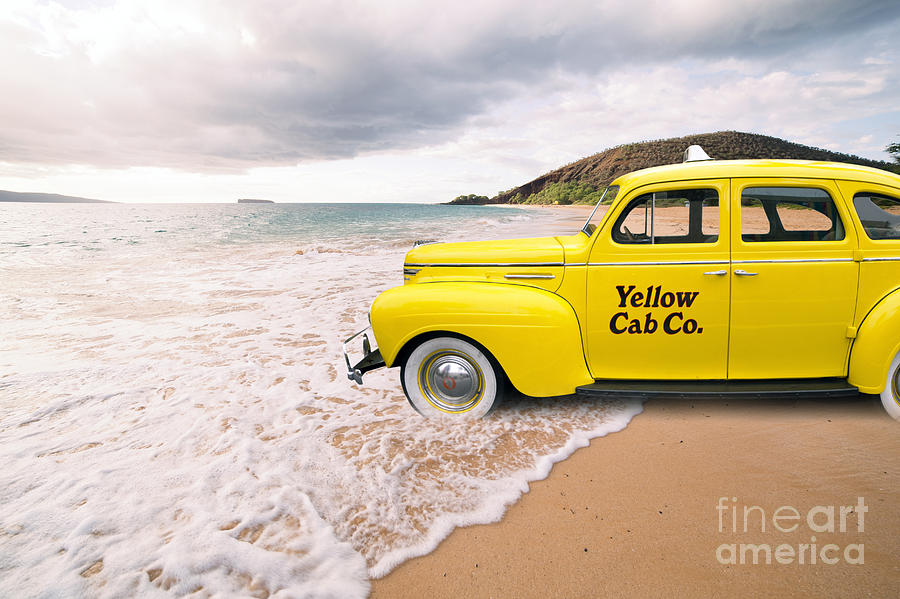 Hawaii Photograph - Cab Fare To Maui by Edward Fielding