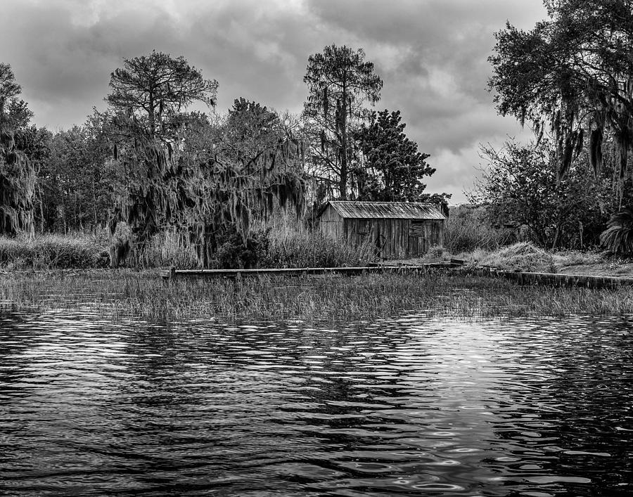 Lake Photograph - Cabin by David Mcchesney