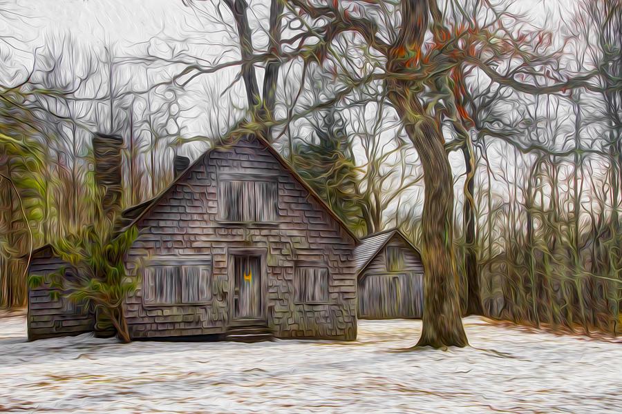Appalachia Photograph - Cabin Dream by Debra and Dave Vanderlaan