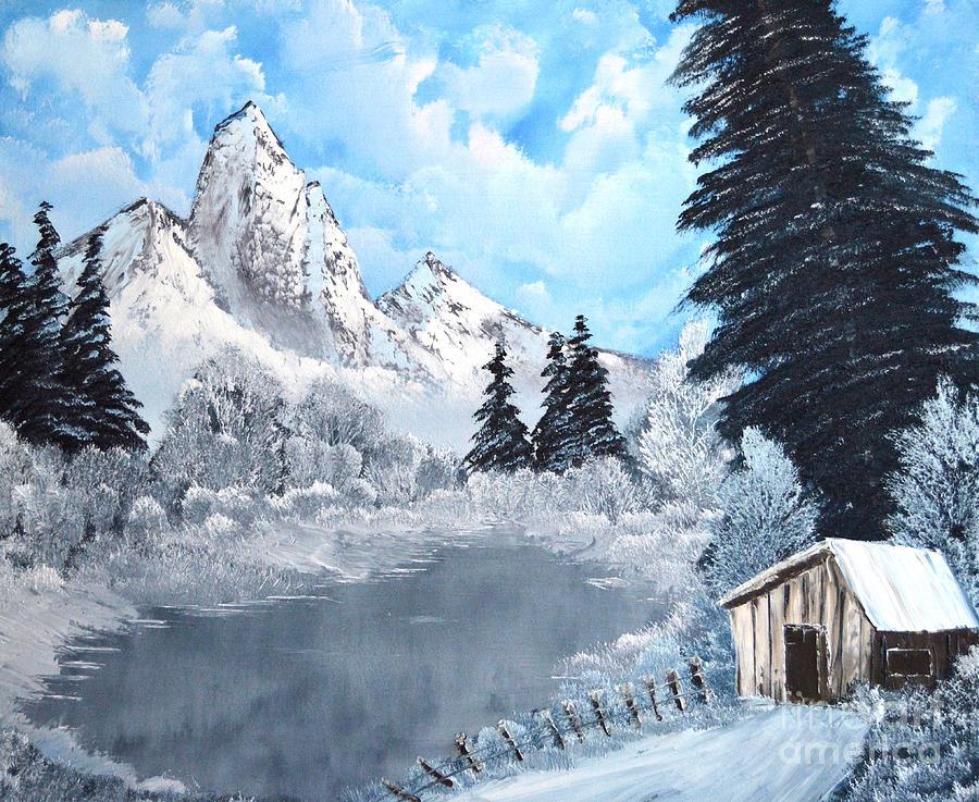 Landscape Painting - Cabin Fever by John Kemp