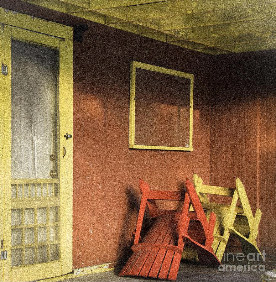 Cabin Photograph - Cabin Fever by Nancy Harrison