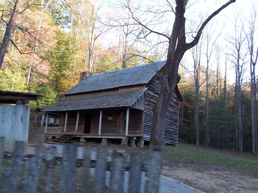 Cabin In Cades Cove Photograph by Regina McLeroy