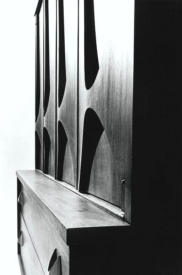 Cabinet Designed By M F Smith For Broyhill Photograph by William Grigsby