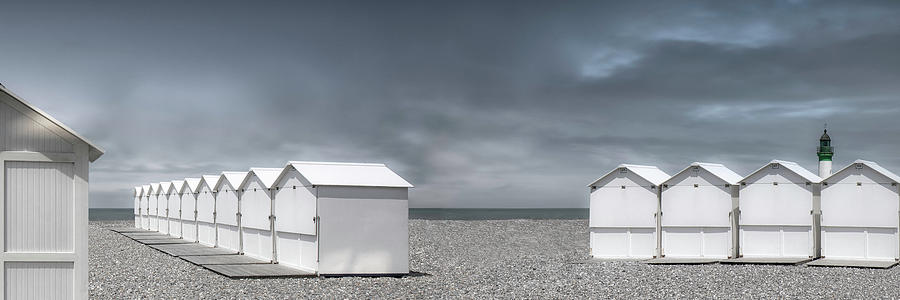 Landscape Photograph - Cabins Beach by Gilbert Claes