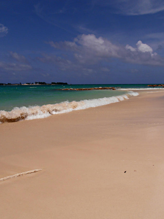 Beach Photograph - Cable Beach Bahamas by Kimberly Perry